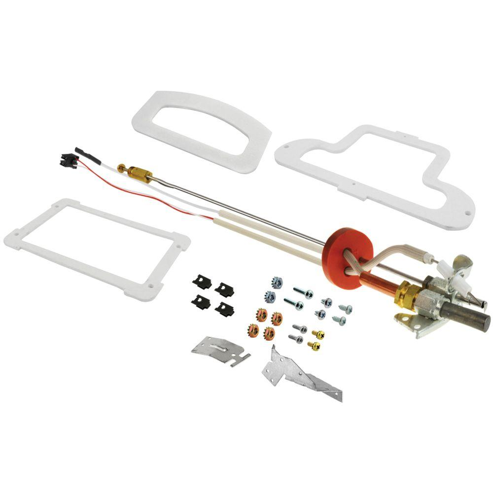 hight resolution of rheem protech ultra low nox pilot thermopile assembly replacement kit for rheem performance series natural
