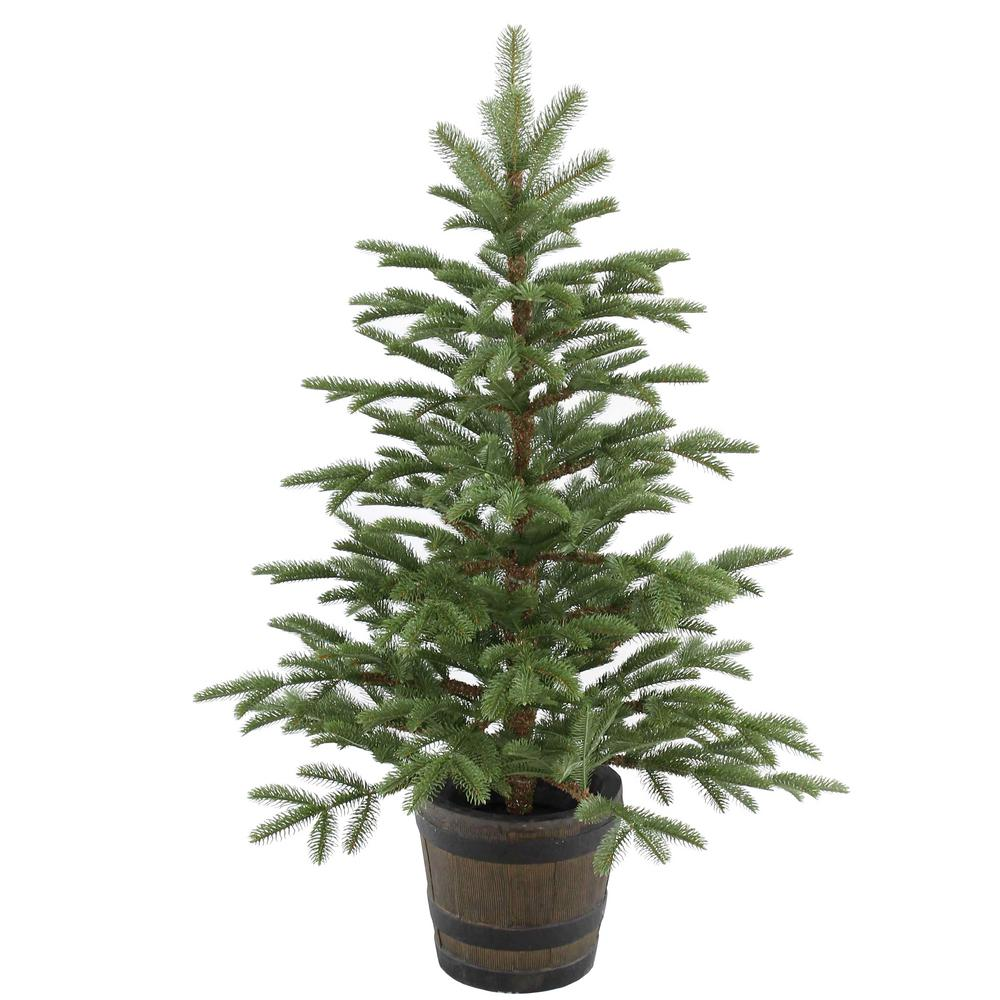 National Tree Company 4 Ft Norwegian Spruce Entrance
