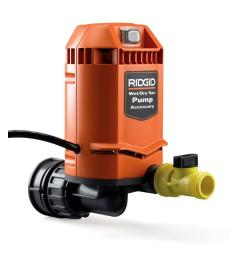 ridgid quick connect pump accessory for ridgid wet dry vacs [ 1000 x 1000 Pixel ]