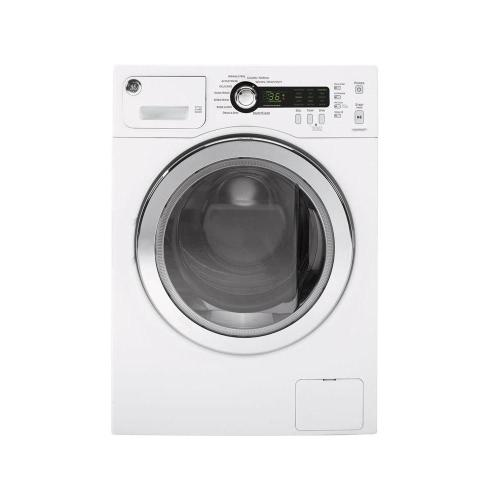 small resolution of ge 2 2 cu ft stackable white front loading washing machine energy star