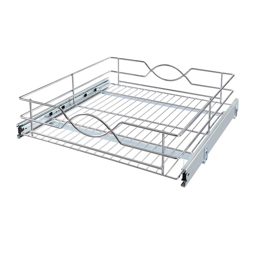 Home Decorators Collection 20 in. Wire Pull-Out Basket-HDR