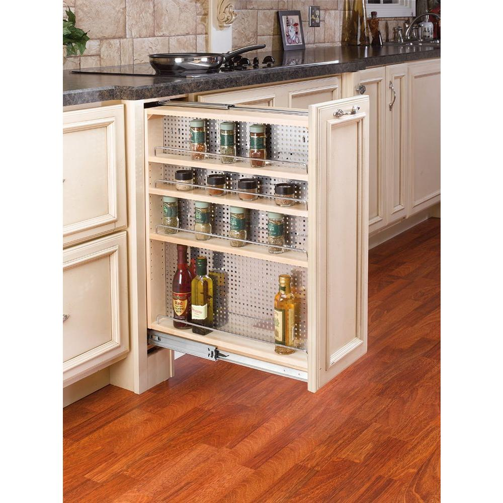 Best Kitchen Gallery: Rev A Shelf 30 In H X 9 In W X 23 In D Pull Out Between Cabi of 9 Kitchen Base Cabinet on rachelxblog.com