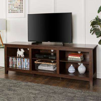 tv stand living room furniture arrangement ideas stands the home depot wood media storage console traditional brown