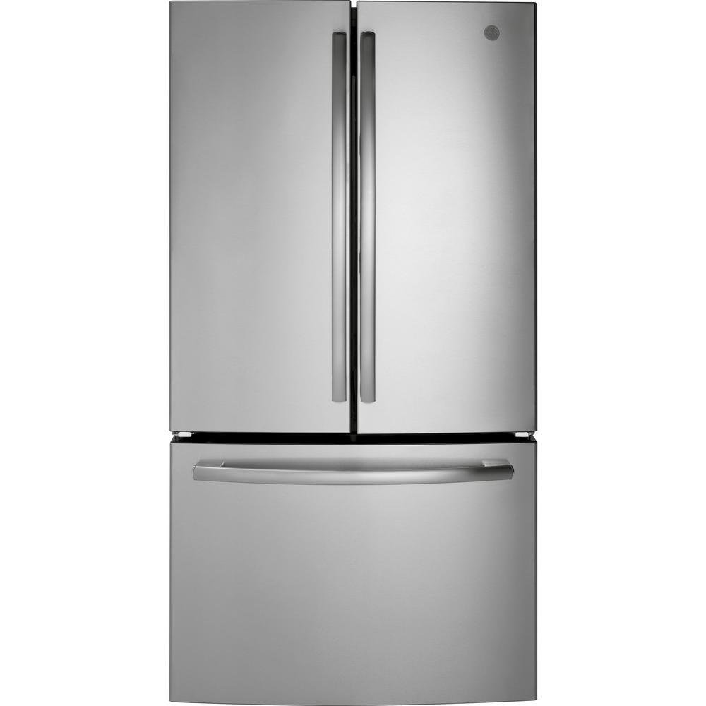 medium resolution of ge 27 0 cu ft french door refrigerator energy star in stainless steel