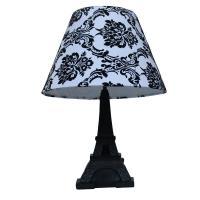 Simple Designs Paris 16 in. Black Eiffel Tower Table Lamp ...