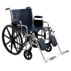 Wheelchair Manual Portable High Chair For Travel Medline Excel Mds806800 The Home Depot