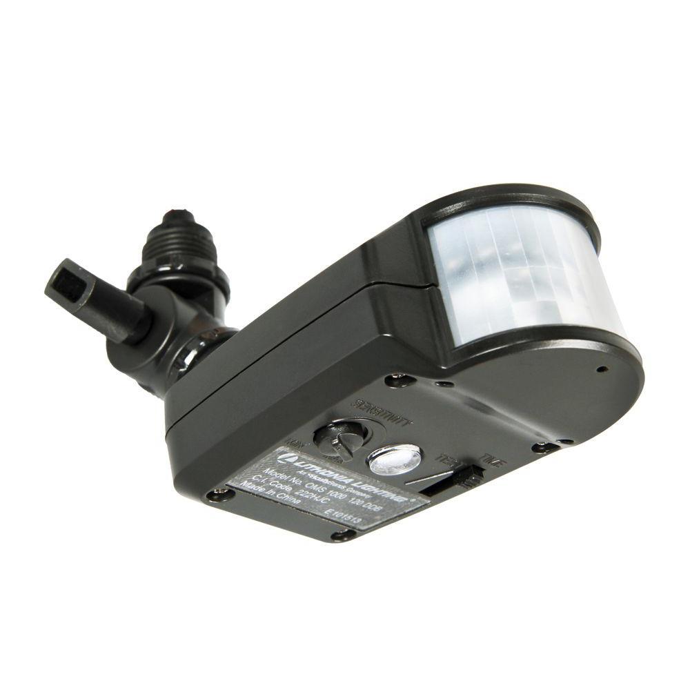 hight resolution of lithonia lighting outdoor 180 detection zone motion sensor retrofit kit bronze