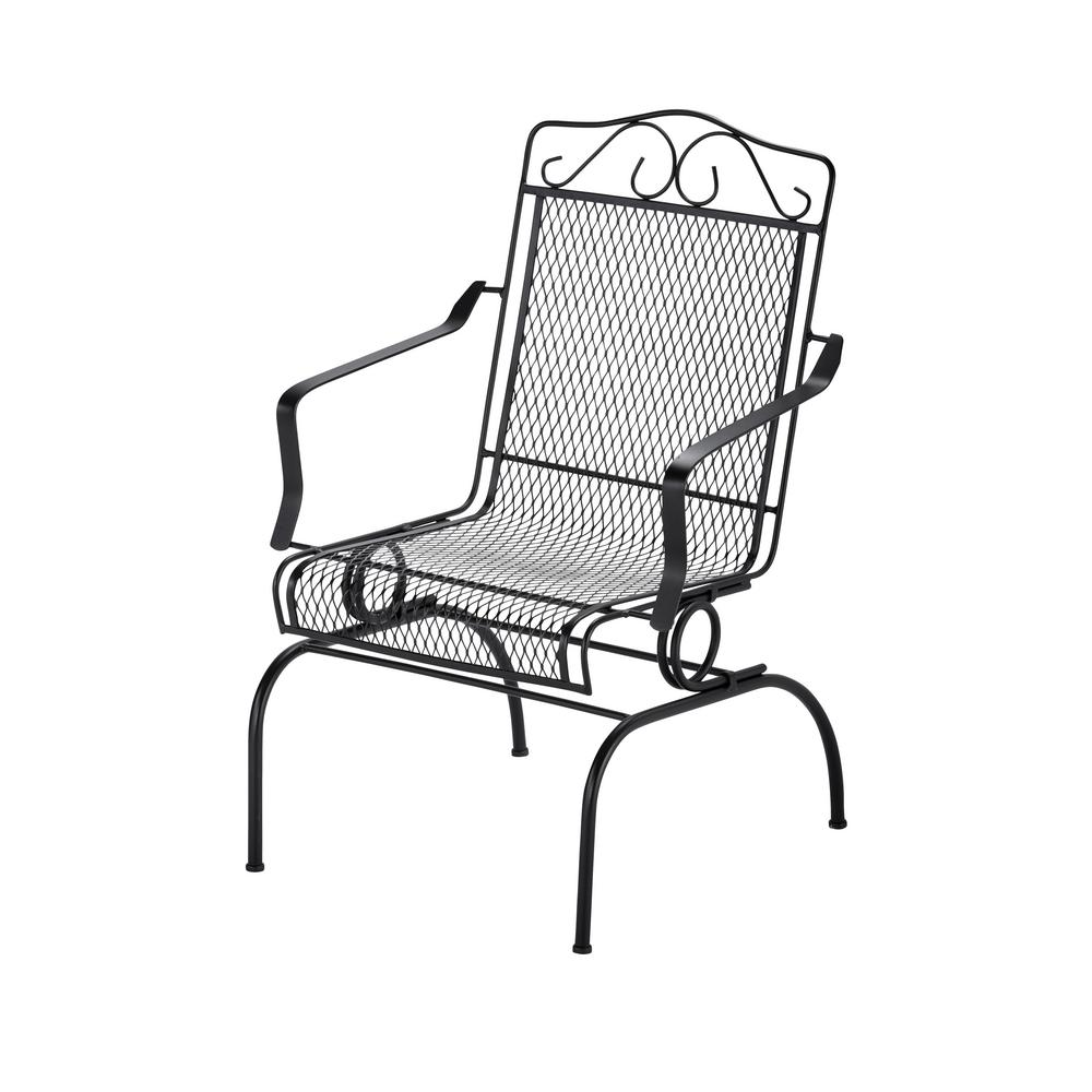 Nantucket Rocking Metal Outdoor Dining Chair6991700