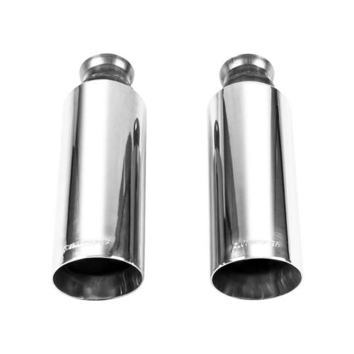 small resolution of exhaust tip 09 17 dodge ram 1500 direct fit exhaust tips pair bright polish finish 4in