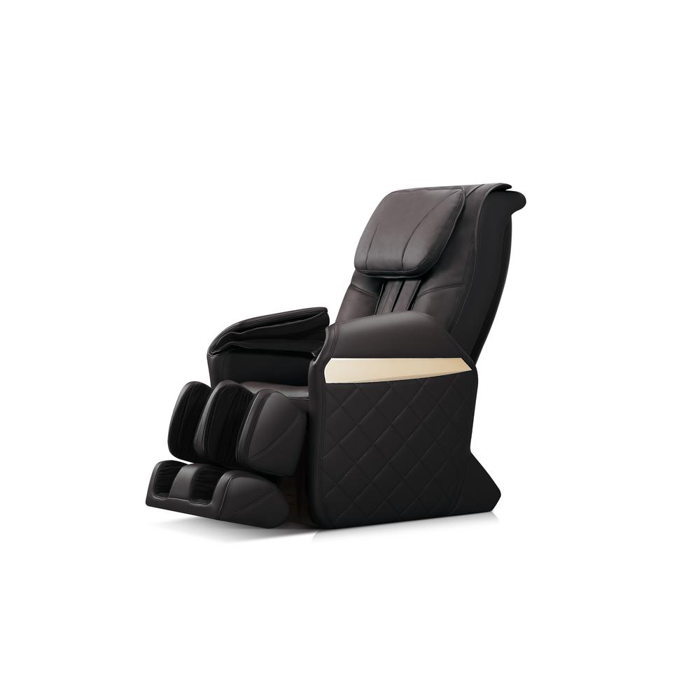 Massage Therapist Chair Icomfort Ic6600 Black Massage Chair Ic6600 Blk The Home Depot
