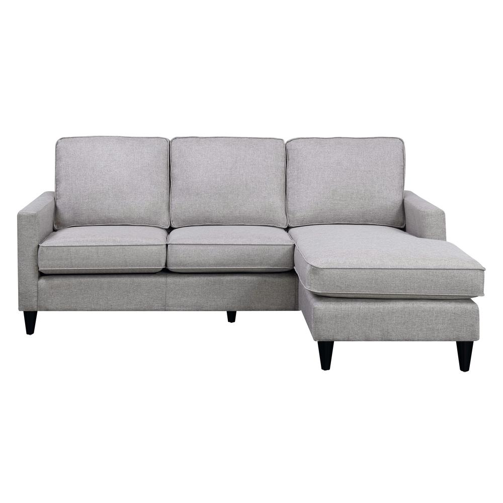 Grey Couch Chaise Grey Sectional Couch Nebraska Furniture Mart