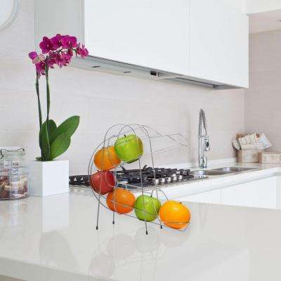 fruit basket for kitchen cabinet sales baskets countertop storage the home depot curved chute accessory