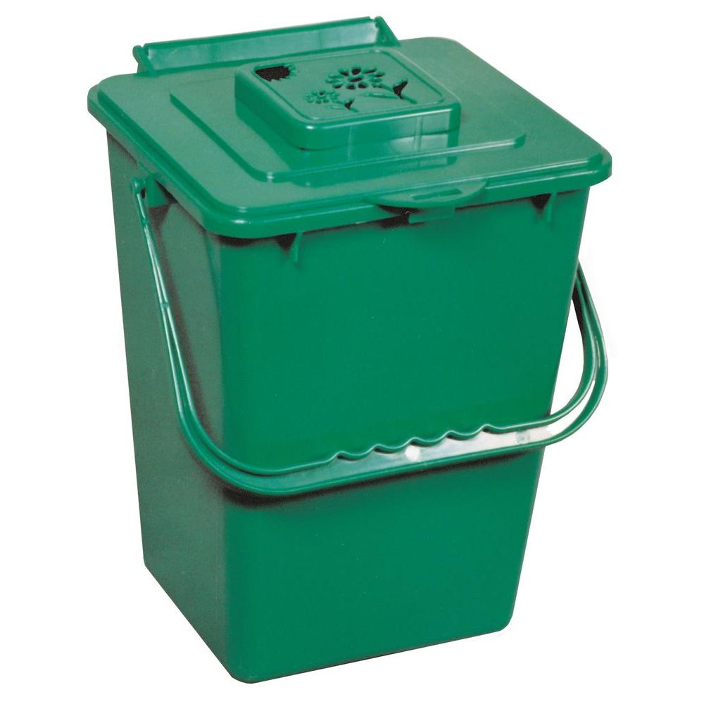 kitchen compost container chicago remodeling exaco eco 2 4 gal collector 2000 the home depot