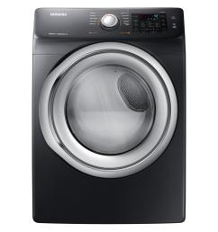 samsung 7 5 cu ft electric dryer with steam in black stainless [ 1000 x 1000 Pixel ]