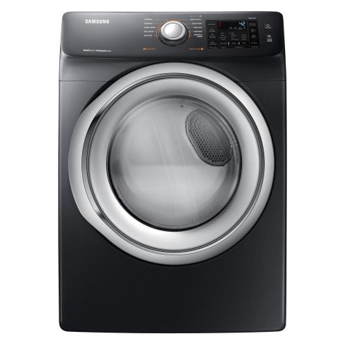 small resolution of samsung 7 5 cu ft electric dryer with steam in black stainless