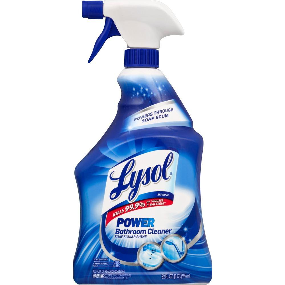 lysol antibacterial kitchen cleaner farmhouse style faucets 32 oz. bathroom trigger-19200-02699 - the ...