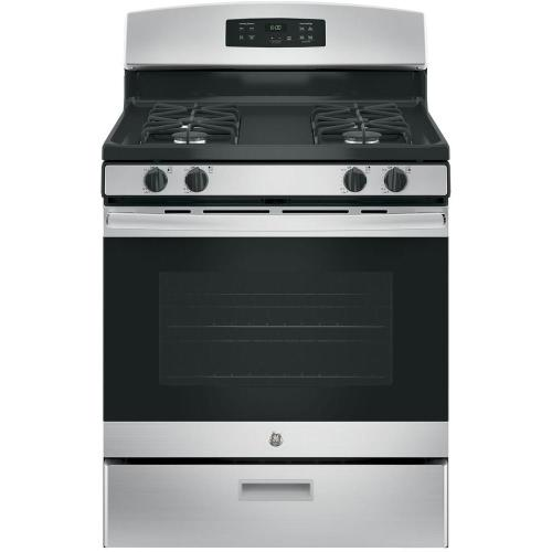 small resolution of ge 30 in 4 8 cu ft gas range in stainless steel