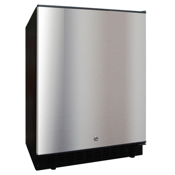 Vinotemp 5.12 Cu. Ft. Outdoor Refrigerator In Stainless Steel-vt-outdoorref - Home Depot