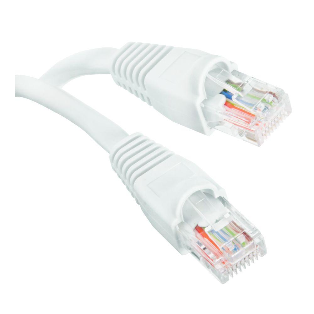 medium resolution of cat5e utp ethernet cable white