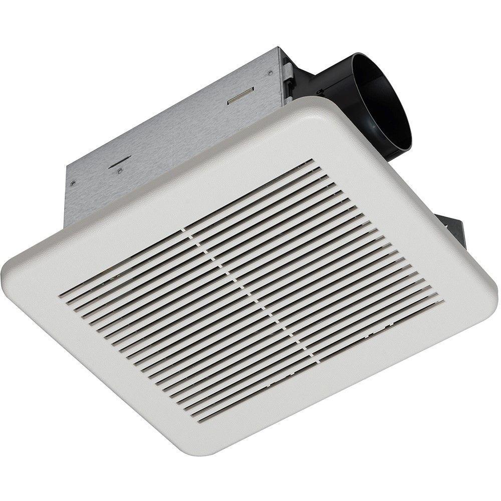 hampton bay 80 cfm no cut ceiling humidity sensing bath fan-7134