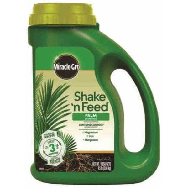 Miracle-gro Shake ' Feed 4.5 Lbs. Palm Food-300291005