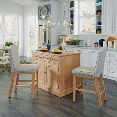 pictures of kitchen islands cabinet locks carts utility tables the home depot cambridge white wash natural island set with wood top light brown