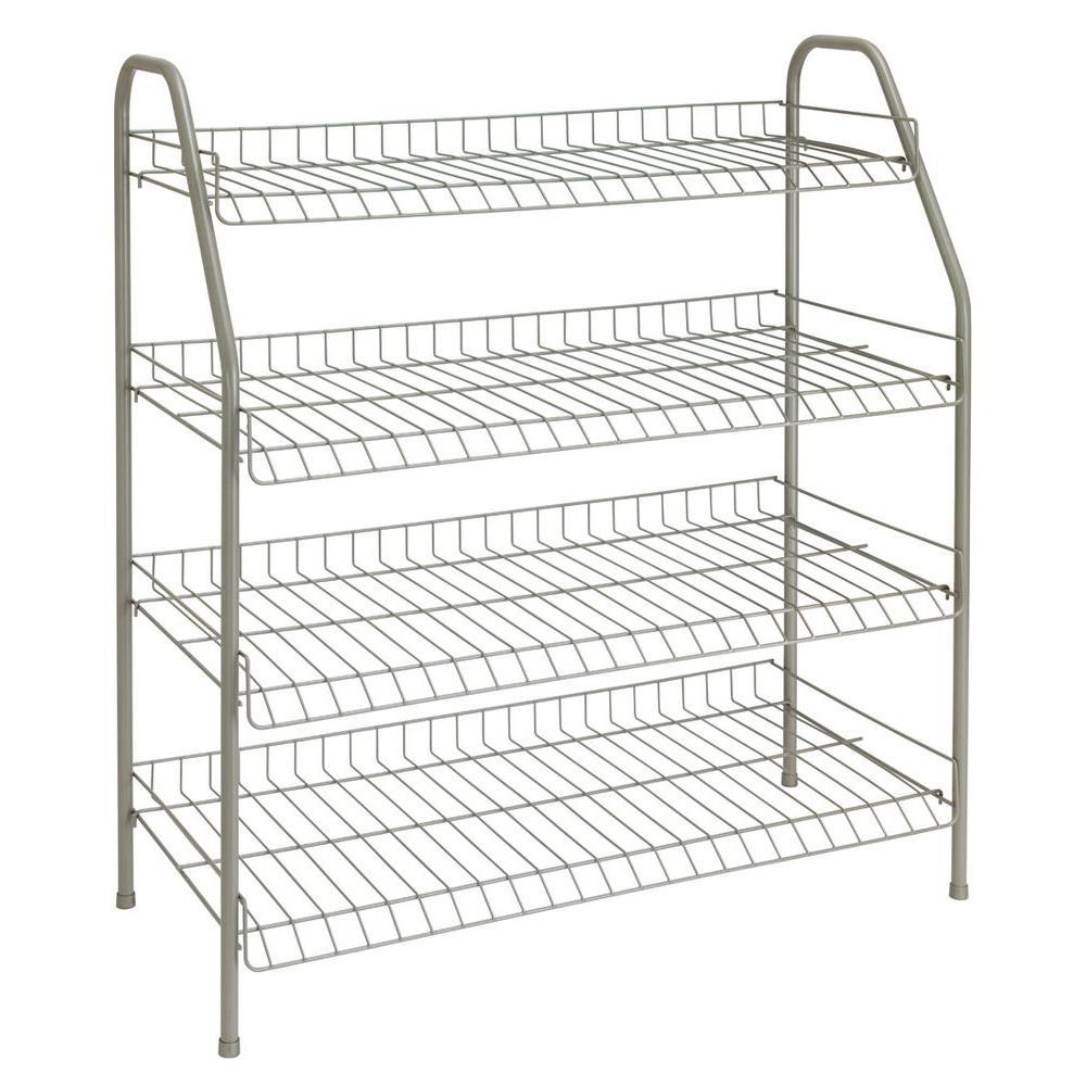 ClosetMaid 28 in. H x 26 in W x 12 in. D 4-Shelf 12-Pair