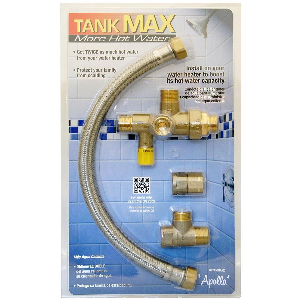 medium resolution of tank max hot water extender system