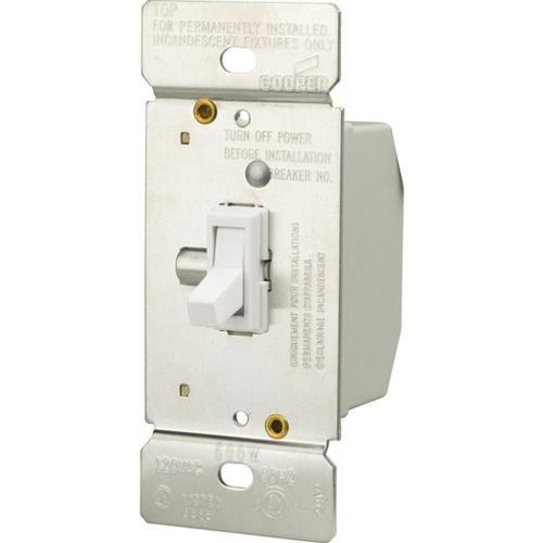 small resolution of  white eaton dimmers ti306 w k 64 1000 leviton sureslide universal 150 watt led and cfl 600 watt 600 watt 3 way