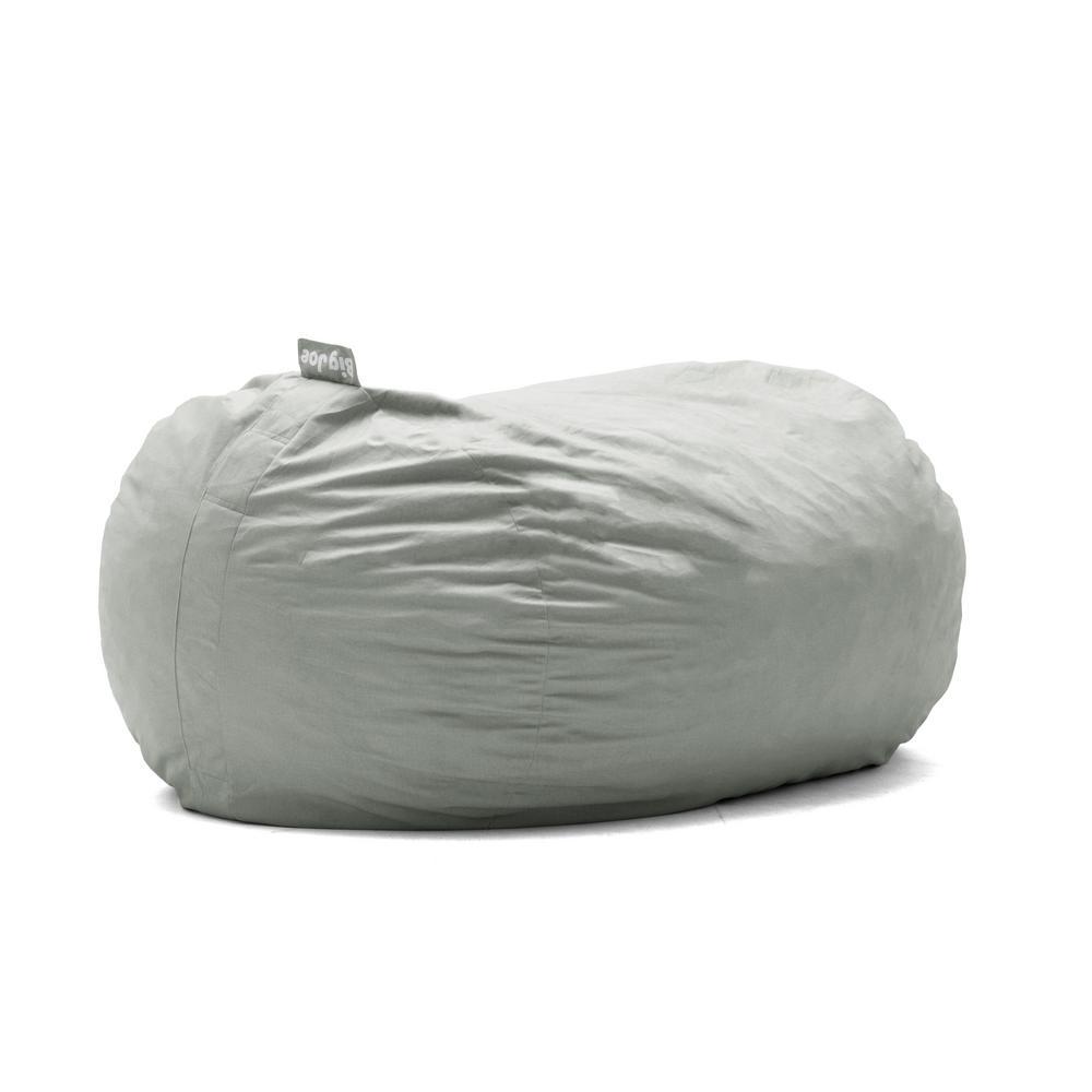 foam bean bag chair airborne butterfly big joe media lounger shredded ahhsome fog lenox 0002658 the home depot