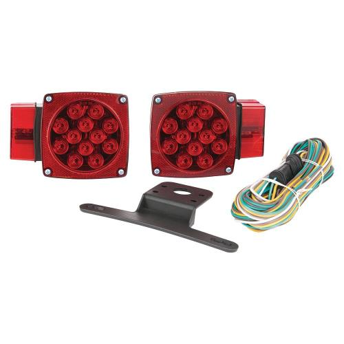 small resolution of over and under led trailer light kit