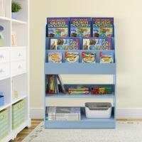 Furinno KidKanac Light Blue Toy Storage Cabinet Bookshelf ...