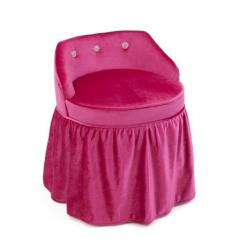 Pink Vanity Chair Home Goods Leather Chairs 4d Concepts Girls 12467 The Depot