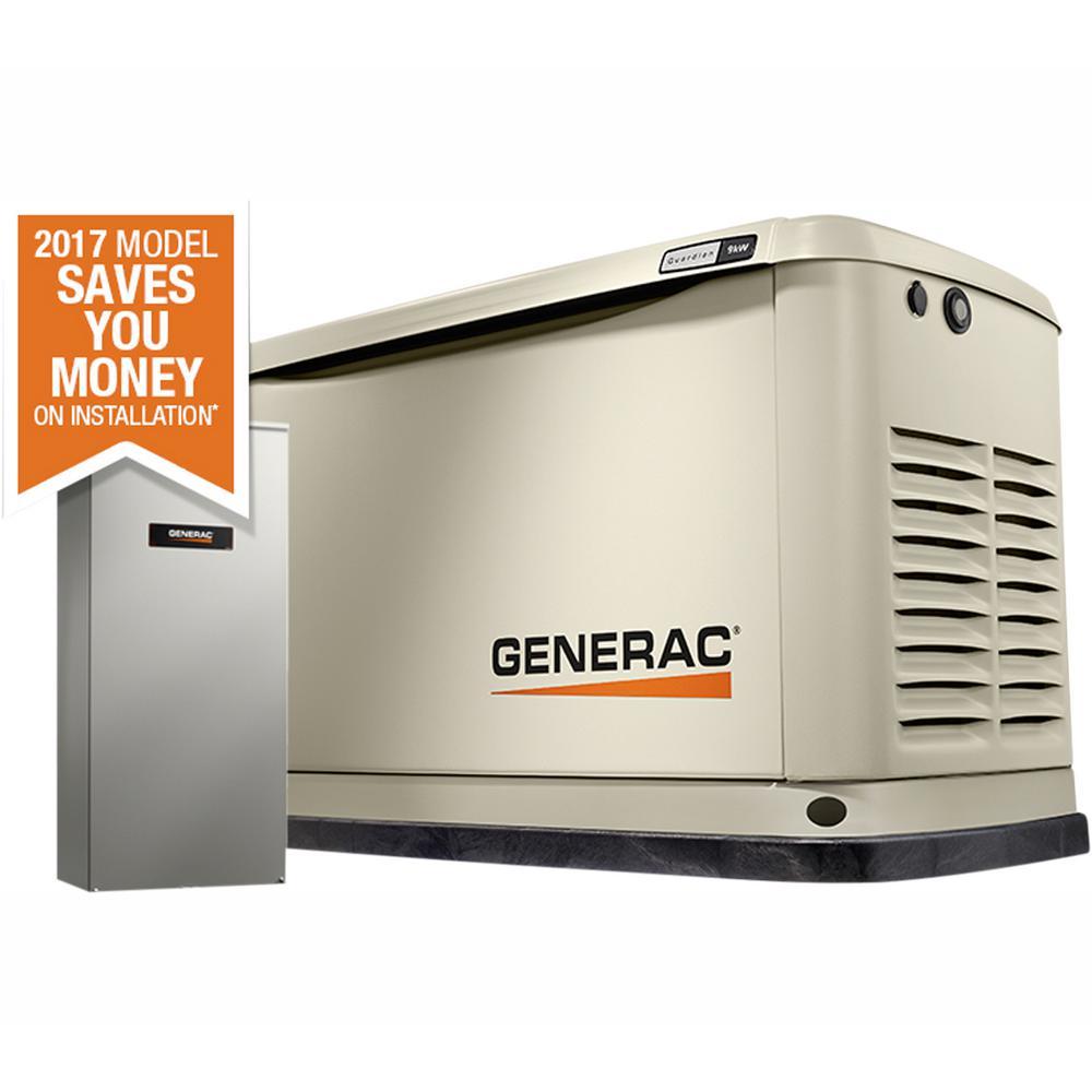 medium resolution of generac 9 000 watt lp 8 000 watt ng air cooled