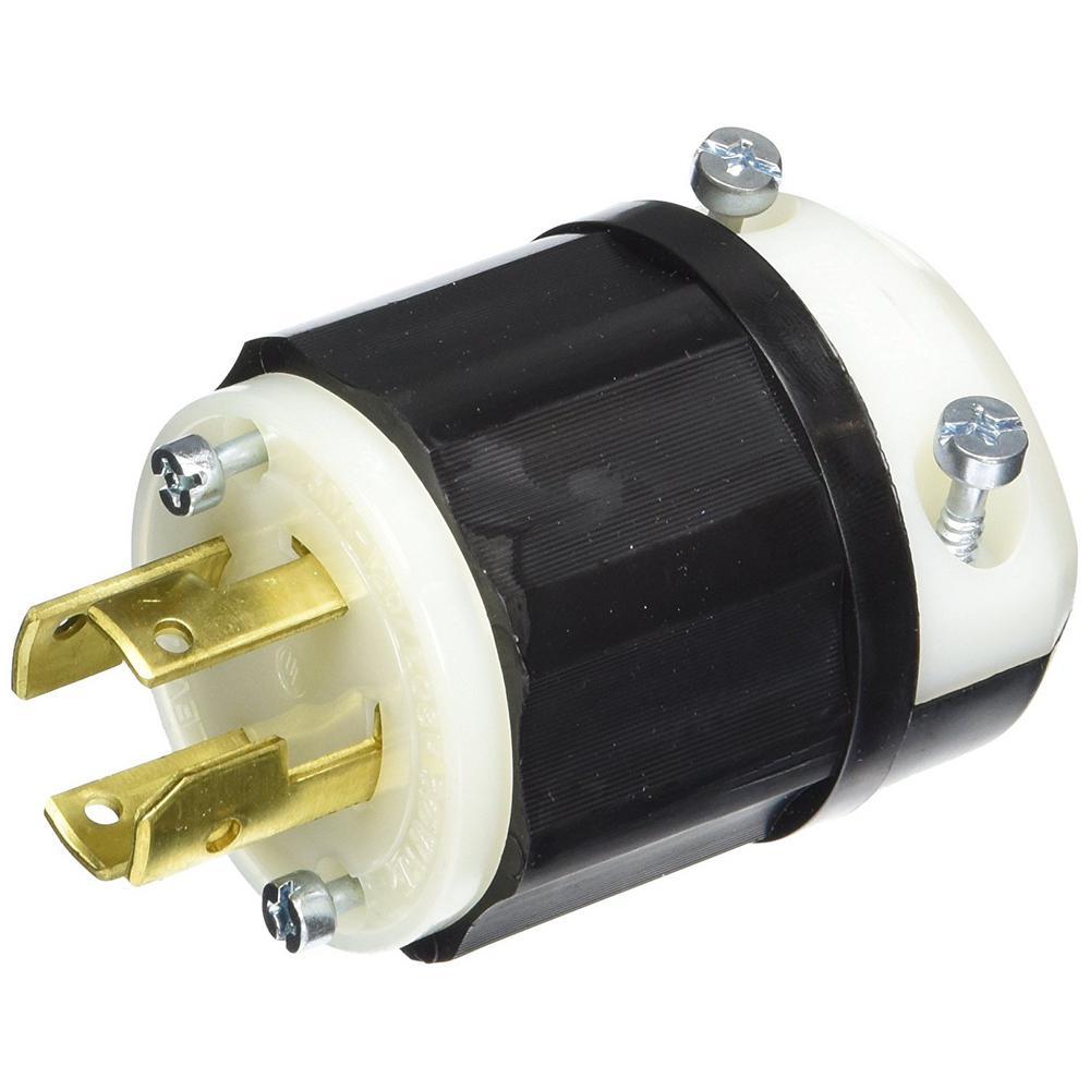 medium resolution of leviton 30 amp 120 208 volt industrial grade 3 phase locking non