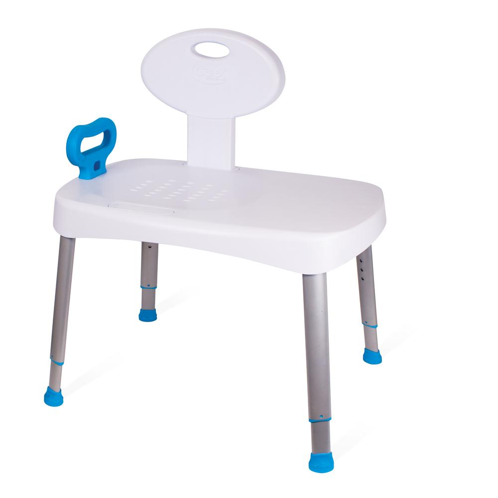 carex shower chair forest dental health brands easy transfer bench fgb16600 0000 the home depot