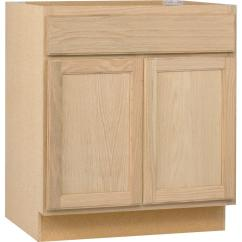 Kitchen Base Cabinet Metal Cabinets Assembled 30x34 5x24 In Unfinished Oak