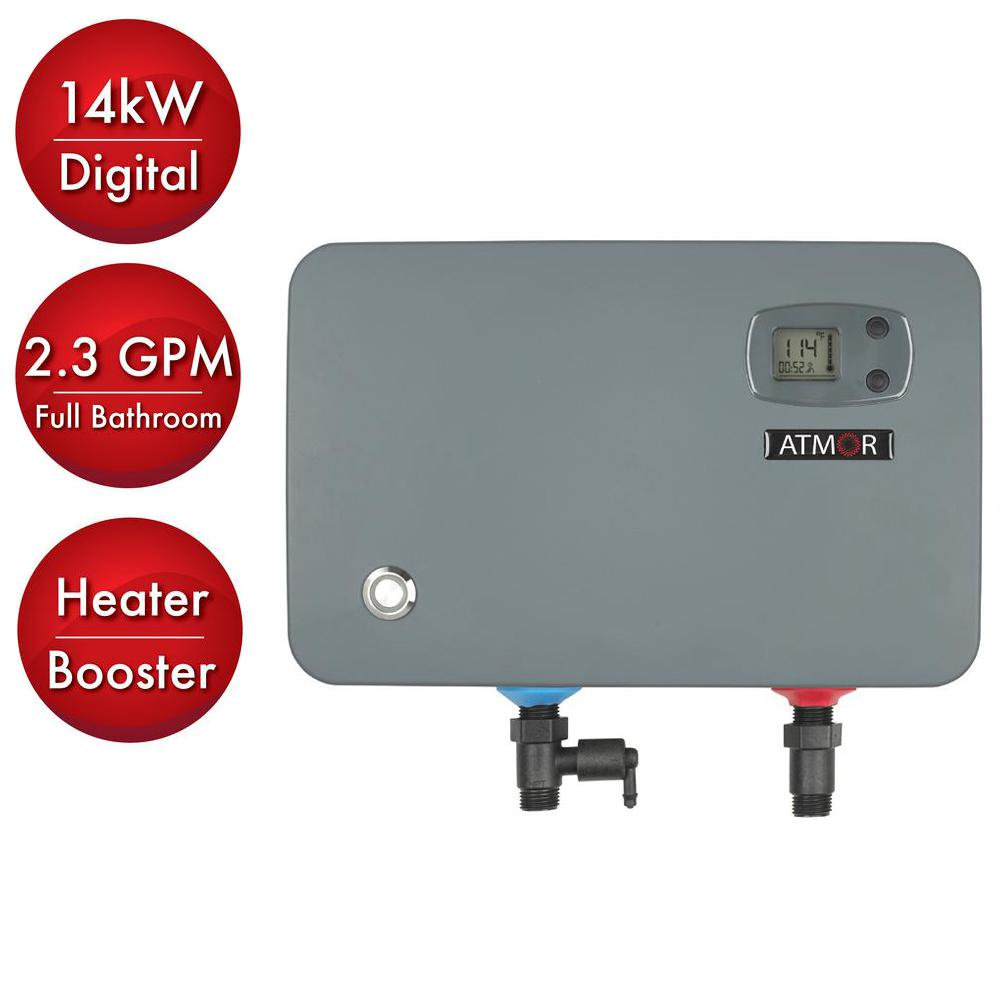 medium resolution of 14 kw 240 volt 2 3 gpm electric tankless water heater on demand water