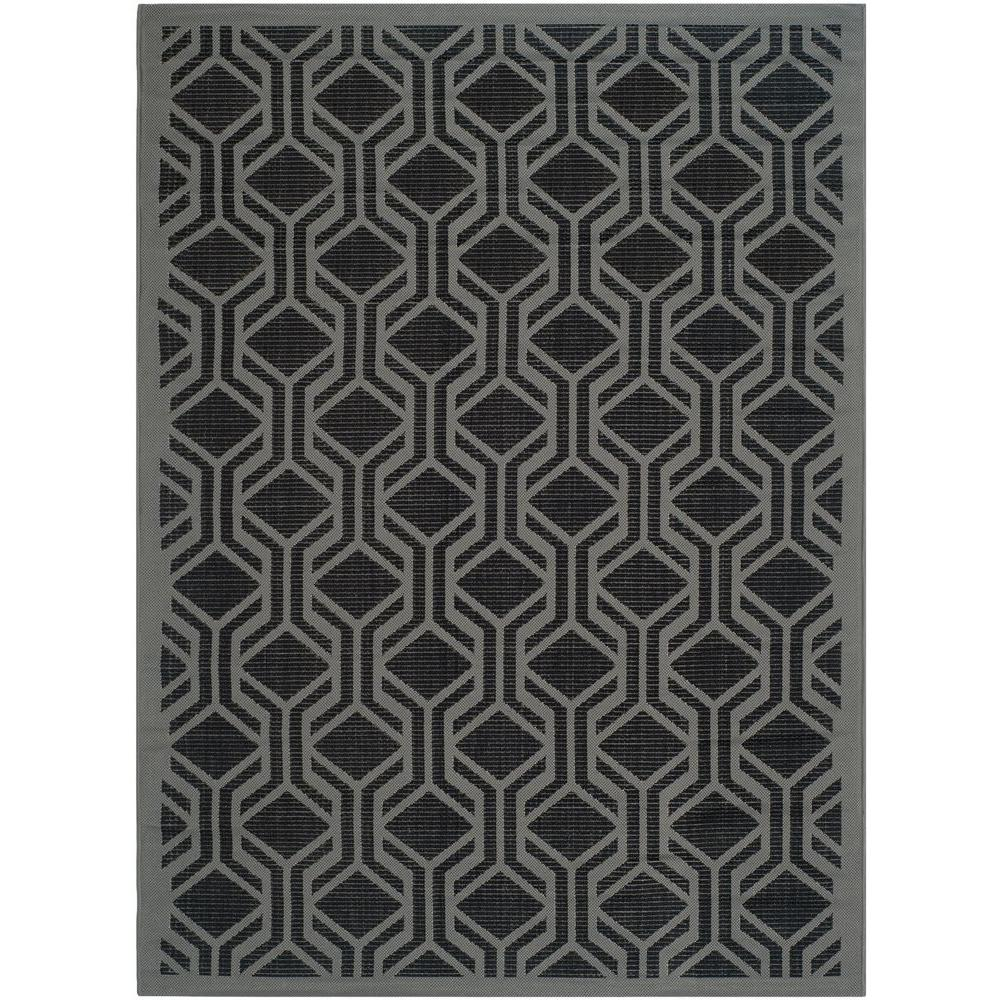 Outdoor Teppich 250 X 500 Safavieh Courtyard Black Anthracite 4 Ft X 6 Ft Indoor Outdoor Area Rug