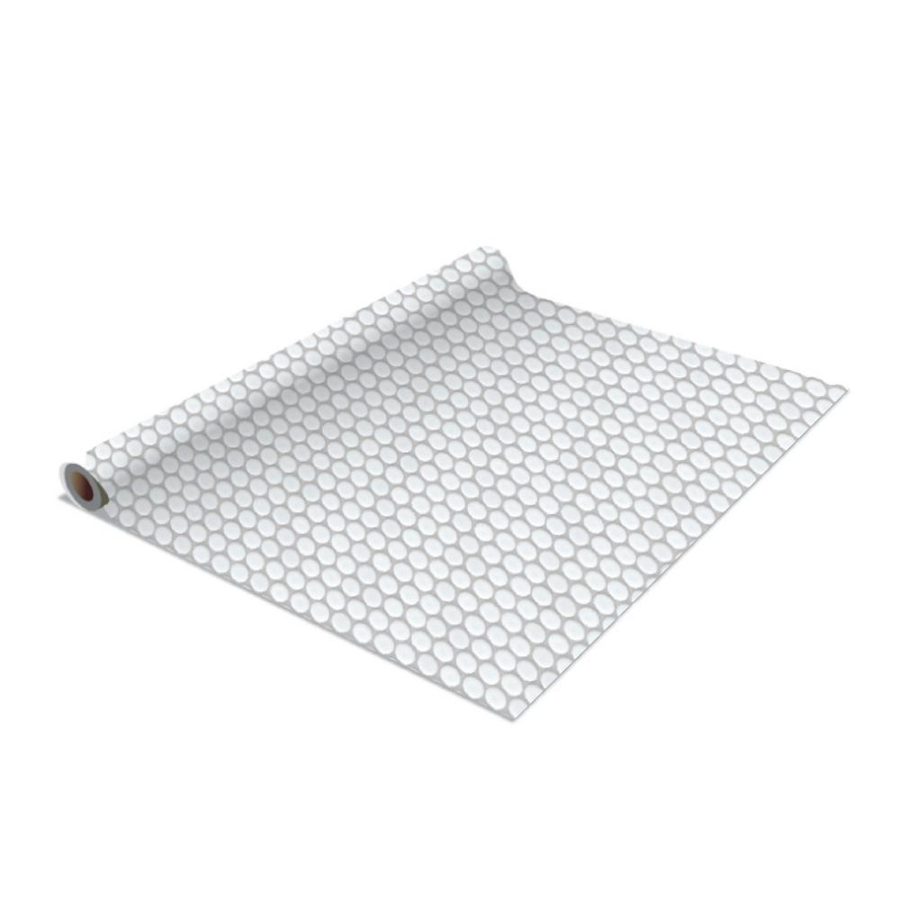 Simplify 2-Pack Penny Tile Self-Adhesive Shelf Liner in