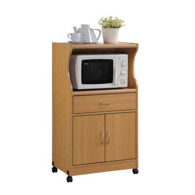 kitchen microwave cart led ceiling lighting carts islands utility tables 1 drawer beech