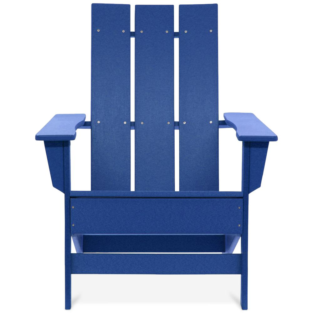 royal blue chairs booster seat kitchen chair durogreen aria recycled plastic modern adirondack