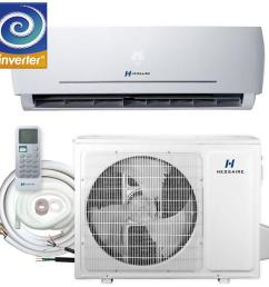 this review is from 12 000 btu 1 0 ton 115v ductless mini split air conditioner with inverter heat pump remote and 16 ft copper line set [ 1000 x 1000 Pixel ]