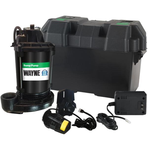 Wayne Pumps Esp25 Upgraded 12-volt Battery - System-esp25n Home Depot