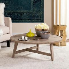 Retro Living Room Coffee Table How To Decorate A Small Open Plan Kitchen Safavieh Malone Mid Century Wood Light Gray