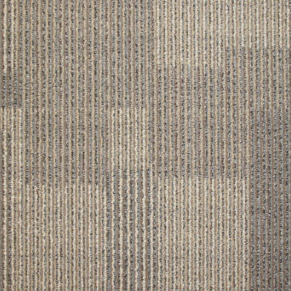 Rockefeller Cork Loop 197 in x 197 in Carpet Tile 20 TilesCase707001  The Home Depot