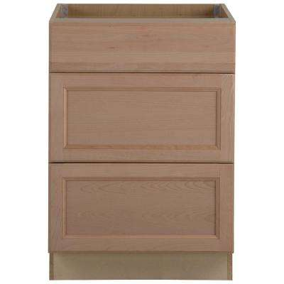 prefab kitchen cabinets what color for a small assembled the home depot easthaven base cabinet with 3 drawers in unfinished german