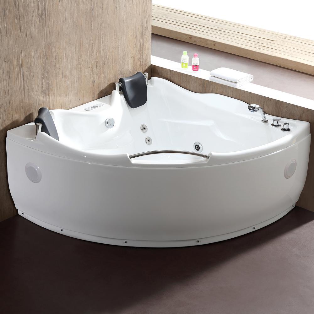 Corner Bathtubs  Bathtubs  The Home Depot