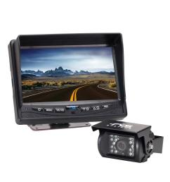 540tvl back up camera system with 7 in flush mount monitor [ 1000 x 1000 Pixel ]