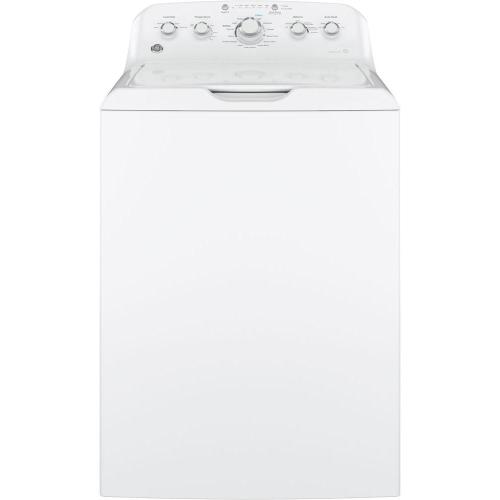 small resolution of ge 4 2 cu ft high efficiency white top load washing machine with stainless